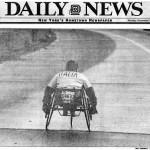Alessandro Scalvinoni Maratona di New York 1995 Daily News