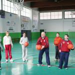 Polisportiva-basket Simone e Silvia