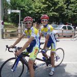 Ciclismo tandem-Bersini