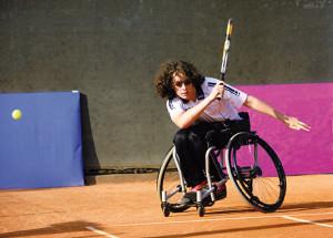 Sport disabili Val Camonica polisportiva tennis Gioele nazionale 2008