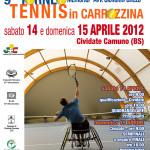 Locandina torneo di tennis a Cividate Camuno