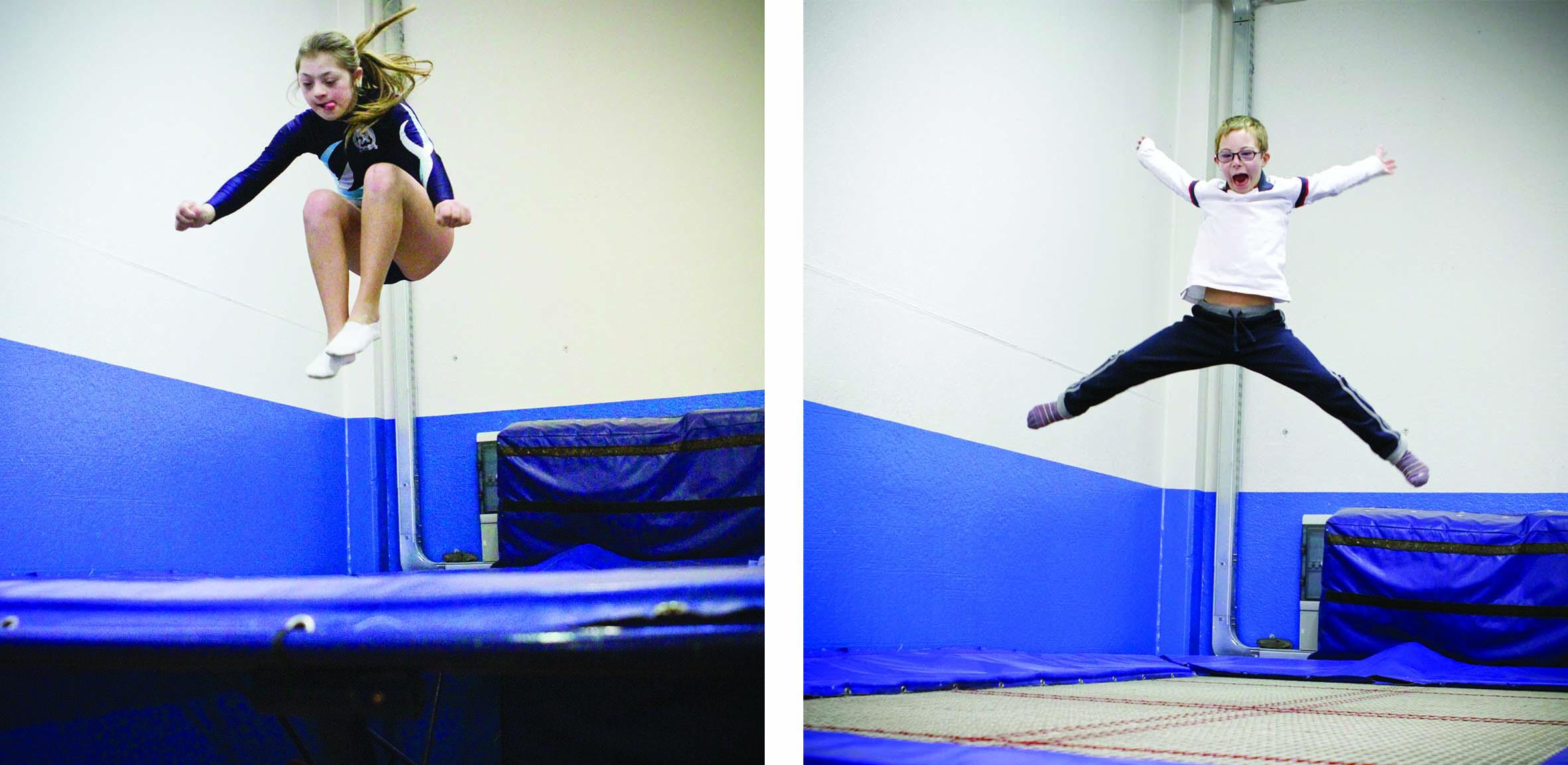 ginnastica artistica Mario e Giulia